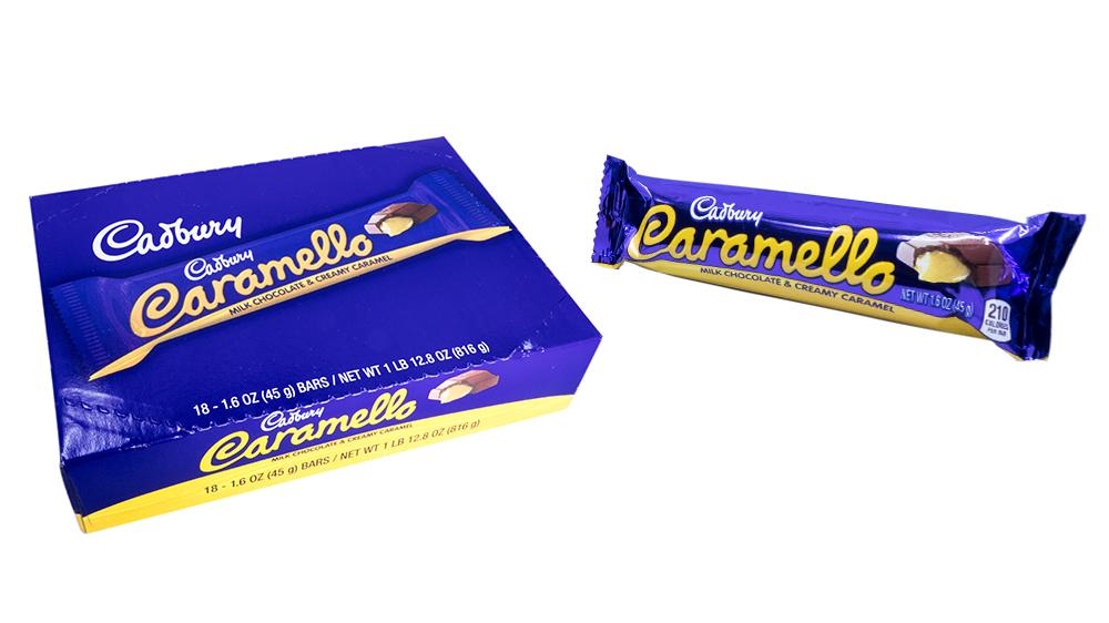 Cadbury Caramello 1.6oz 18 Count Box
