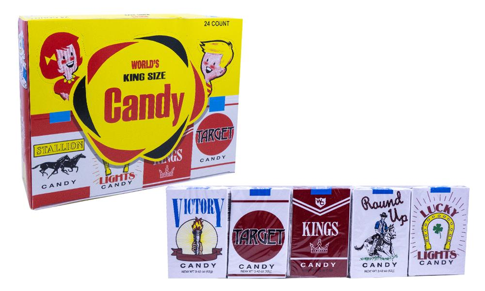 Candy Cigarettes Original 15gr. Pack or 24 Count Box
