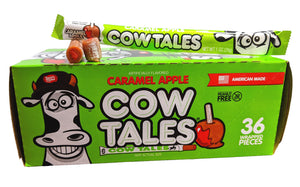 Goetze's Cow Tales Caramel Apple 1oz Piece or 36 Count Box