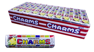 Charms Assorted Squares 1oz 20 Count Box