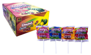 Charms .625oz Sweet n Sour Pops 48 Count Box