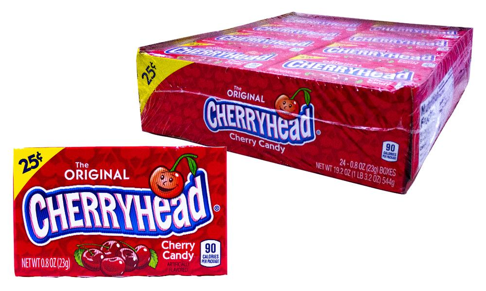 Cherryheads .8oz Box or 24 Count Pack