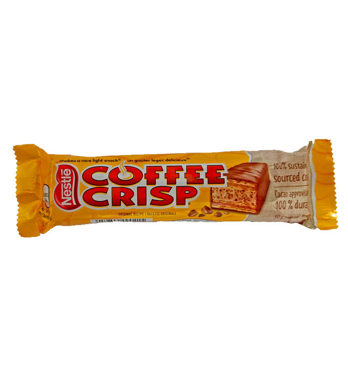 Coffee Crisp 1.76oz Bar or 48 Count Box