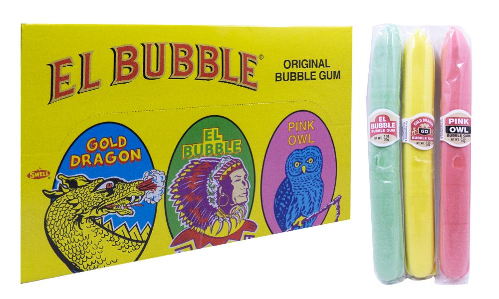 El Bubble .7oz Bubble Gum Cigars 36 Count Box