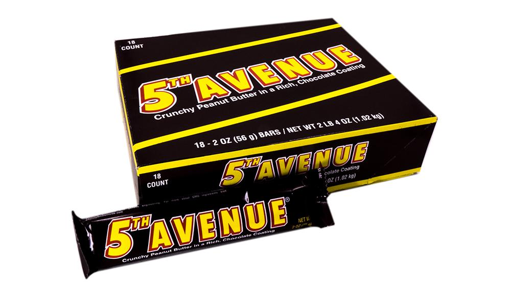 Fifth Avenue 2oz Bar or 18 Count Box