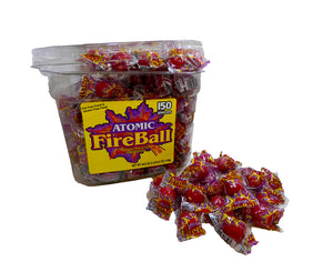 Atomic Fireball 9gr 150 Count Jar
