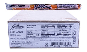 Gilliam .5oz Candy Sticks Candy Corn 80 Count Box