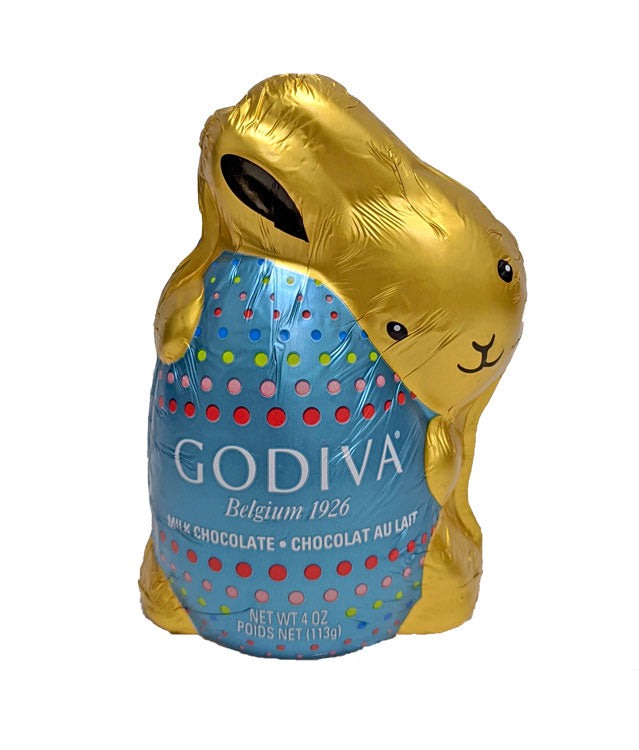 Godiva Milk Chocolate Bunny 4oz