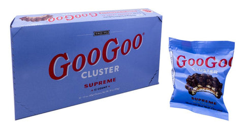 Goo Goo Cluster Pecan 1.5oz Candy Bar or 12 Count Box