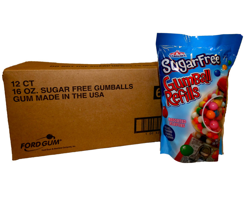 Gumballs Sugar Free 16 oz Bag or 12 Count Box