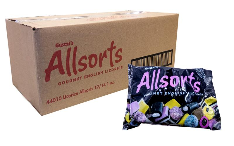 Gustaf Licorice Allsorts 14.1oz or 12 Count Box