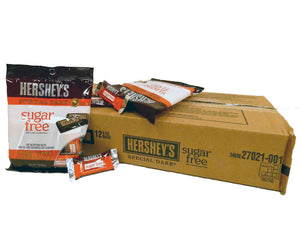 Hershey's Sugar Free 3 oz Bag Special Dark Chocolate Miniatures 12 Count Box