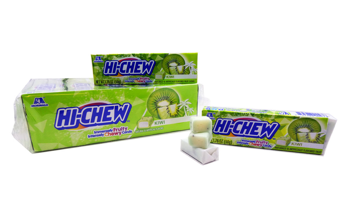Hi-Chew Kiwi 1.76oz Bar or 15 Count Box