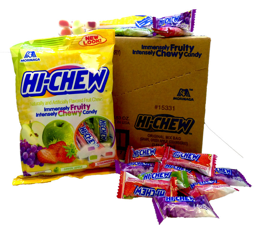 Hi-Chew 3.53oz Bag Original 6 Count Box