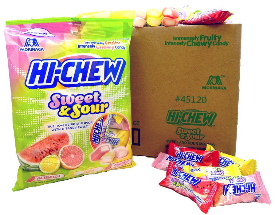 Hi-Chew Sweet & Sour 3.17oz Bag or 6 Count Box