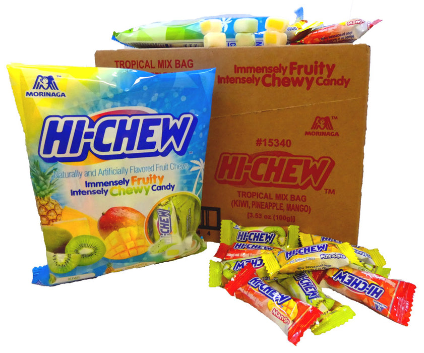 Hi-Chew Tropical 3.53oz Bag or 6 Count Box
