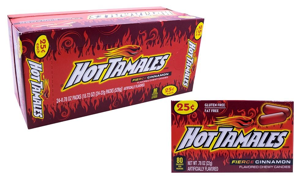 Hot Tamales .78oz 24 Count Box