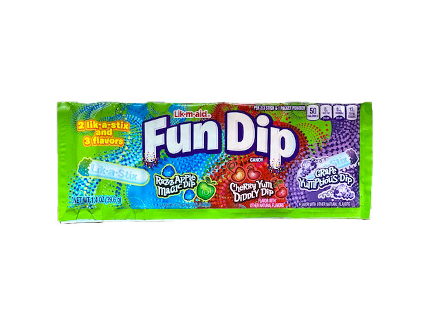 Fun Dip Lik-m-aid 1.4oz or 24 Count Box
