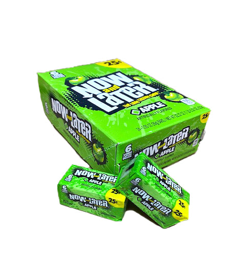 Now and Later Apple .93oz Stick Pack or 24 Count Box