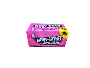 Now and Later Watermelon .93oz Stick Pack or 24 Count Box
