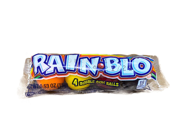 Rain-blo Bubble Gum .53oz Tube or 48 Count Box