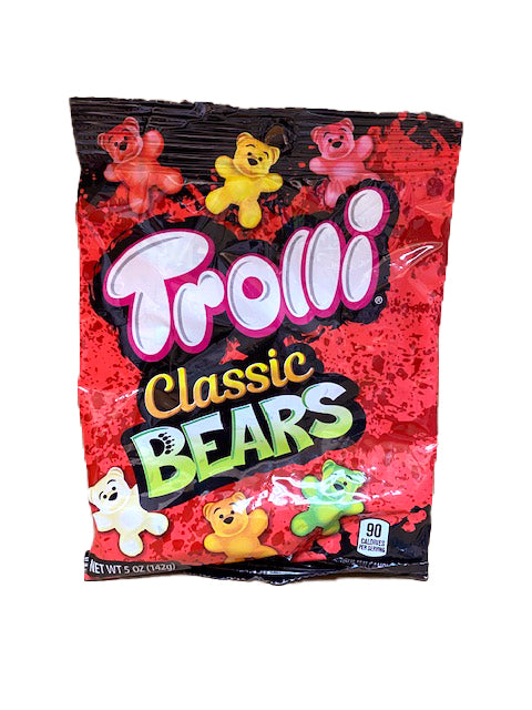 Trolli Classic Bears Gummi 5oz Bag or 12 Count