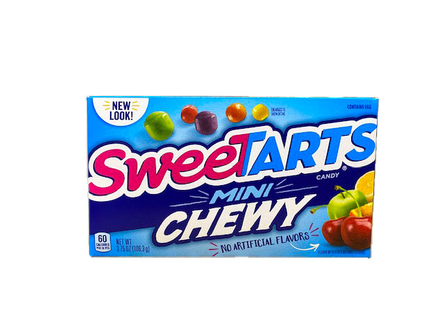 Sweetarts Mini Chewy 3.75oz Theater Box or 12 Count