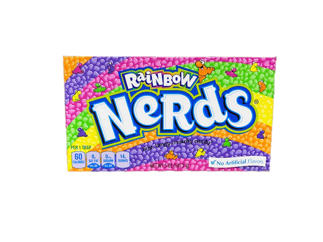 Nerds Rainbow 5oz Theater Box or 12 Count