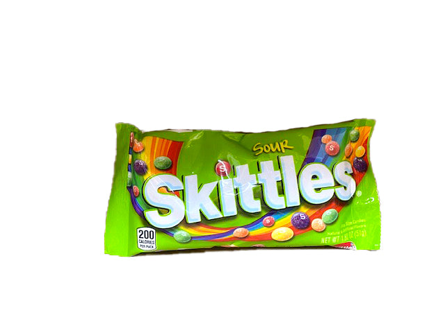 Skittles Sour 1.8oz Bag or 24 Count Box