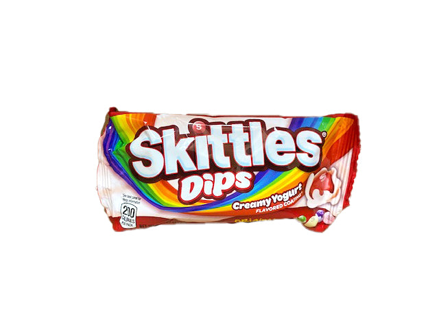 Skittles Dips 1.5oz Bag or 24 Count Box