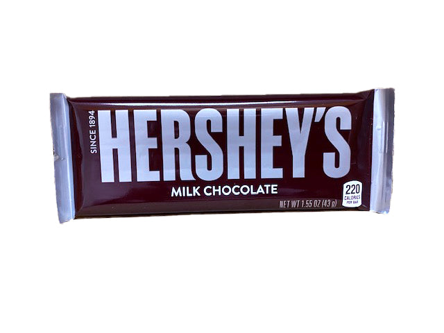 Hershey's Original Milk Chocolate 1.55oz Single Candy Bar