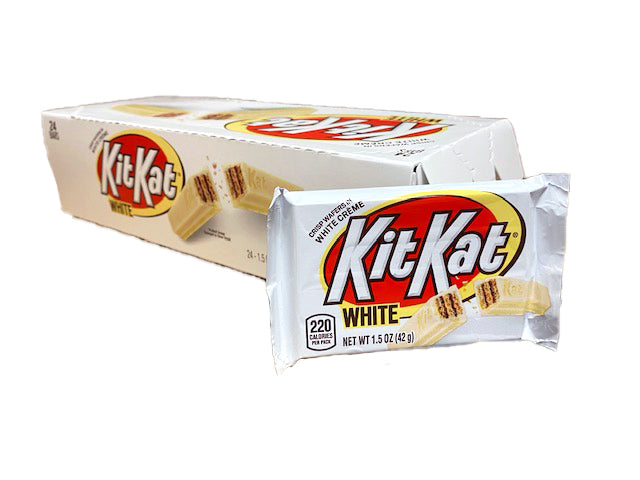 Kit Kat White Chocolate 24 Count Box