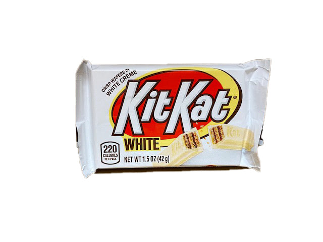 Kit Kat White Chocolate 1.5oz Single Candy Bar
