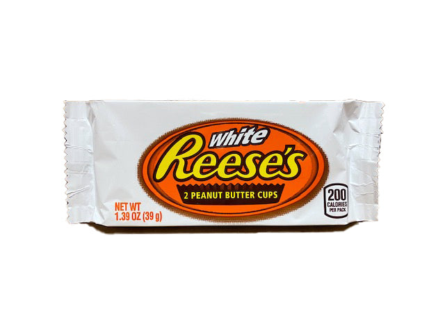 Reese's Peanut Butter Cups White 1.39oz Bar or 24 Count Box