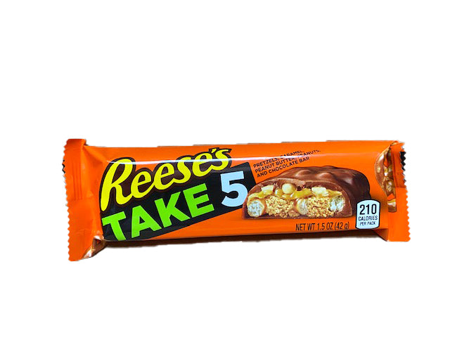 Reese's Take 5 Peanut Butter 1.5oz Bar or 18 Count Box