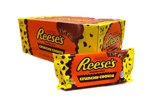 Reese's Peanut Butter Cup with Crunchy Cookie Pieces Box