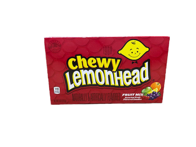 Lemonhead & Friends Chewy Fruit Mix 5oz Theater Box or 12 Count Case