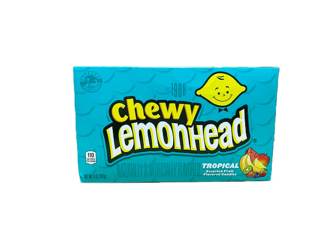 Lemonhead & Friends Chewy Tropical 5oz Theater Box or 12 Count Case