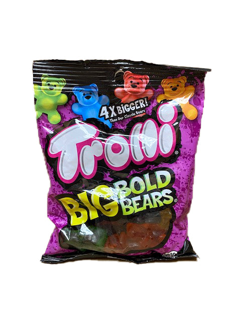 Trolli Big Bold Bears Gummi 5oz Bag or 12 Count