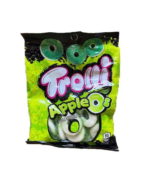 Trolli Apple O's Gummi 4.25oz Bag or 12 Count