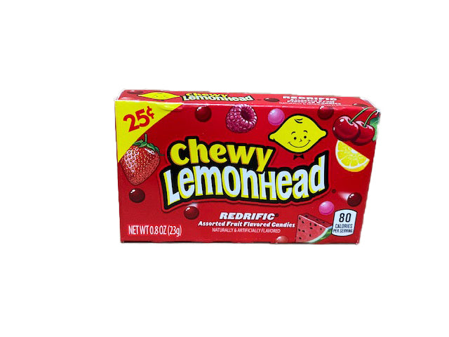 Lemonhead & Friends Chewy Redrific .8oz Box or 24 Count Pack