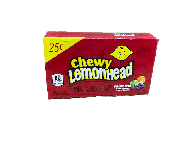 Lemonhead & Friends Chewy Fruit Mix .8oz Box or 24 Count Pack