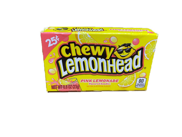 Lemonhead & Friends Chewy Pink Lemonade .8oz Box or 24 Count Pack