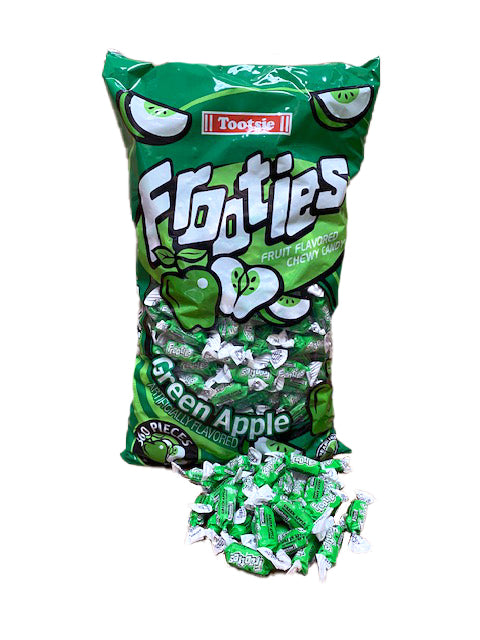 Tootsie Frooties Green Apple 360 Count Bag