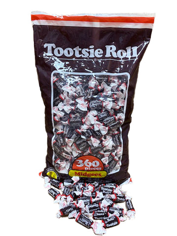 Tootsie Rolls Chocolate 360 Count Bag