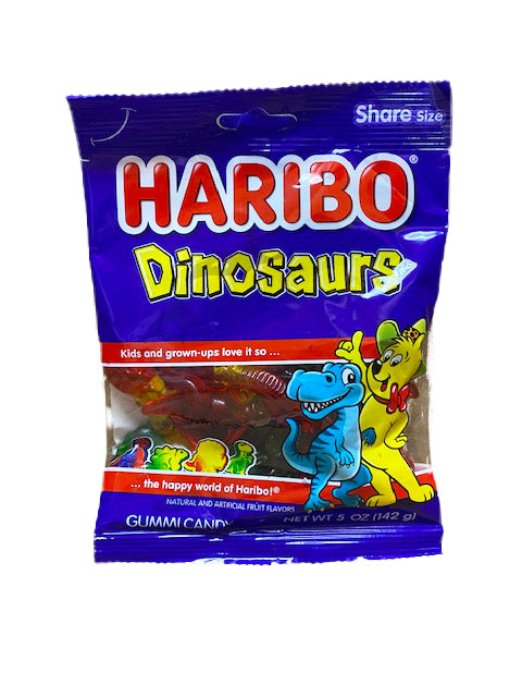 Haribo Dinosaurs 5oz Bag or 12 Count Box