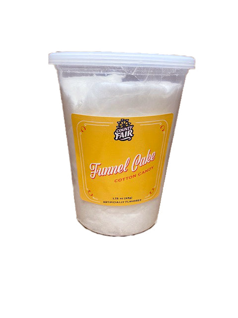 McJak Cotton Candy Funnel Cake 1.75oz Tub
