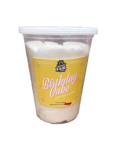 McJak Cotton Candy Birthday Cake 1.75oz Tub