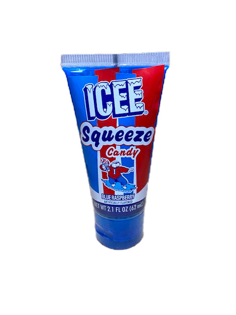 ICEE Squeeze Candy Single Piece Blue Raspberry