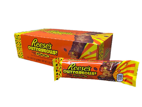 Reese's Outrageous 1.48oz Bar or 18 Count Box